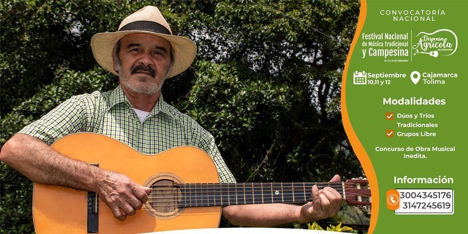 CONVOCAN MUSICOS DE COLOMBIA